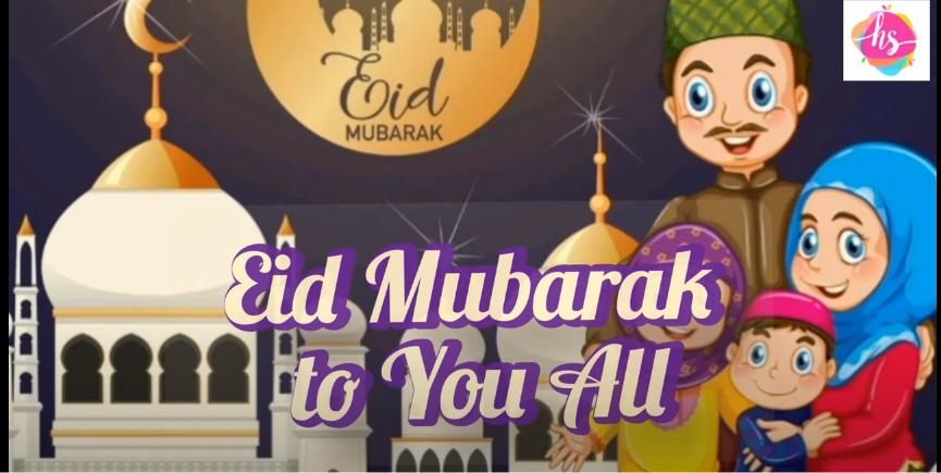 New Beautiful Eid Mubarak status Video Download